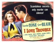 i love trouble noir film